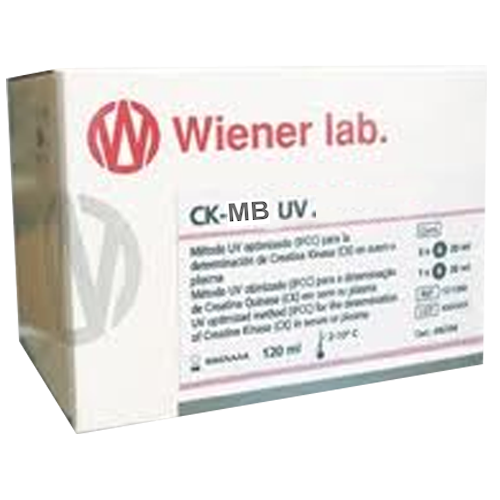 CK MB NAC UV UNITEST WIENER LAB.